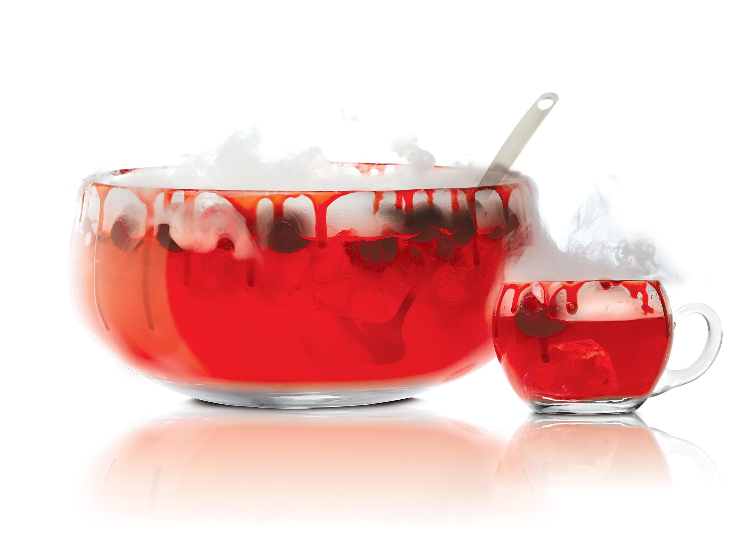 Halloween cocktails vampire 39 s punch for Halloween alcoholic punch bowl recipes