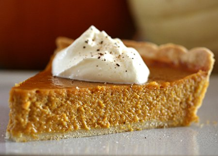 Thanksgiving, pumpkin pie, whipped cream