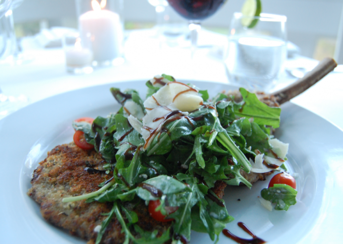 milanese with arugula chicken milanese with arugula the veal milanese ...