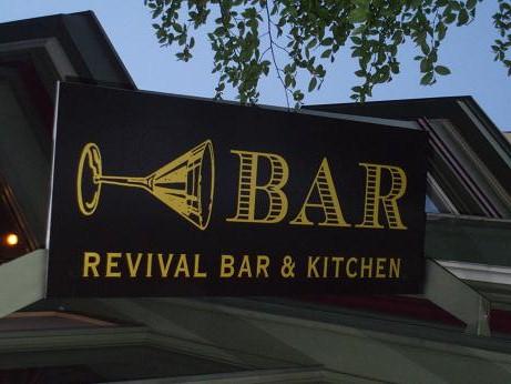Revival Bar Kitchen Berkeley Menu