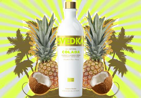 Georges Rants And Raves Svedka Colada Coconut Flavored Vodka