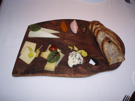 Dining Detectives World Class Dining at Aubergine Restaurant at L\u0027Auberge Carmel » Artisan Cheese Plate & Artisan Cheese Plate | FBWorld.com