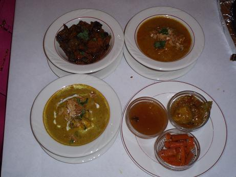 Main dishes for Ajanta indian cuisine