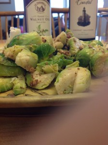 brussel sprouts salad july 2