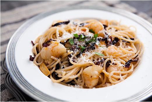 shrimp pasta pasta with shrimp artichokes and feta ancho chile shrimp ...