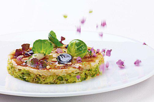 Miso-glazed Sea Scallop Rosacea