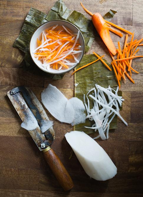 Vietnamese Pickles Carrots & Daikon