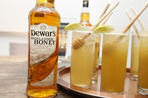 DEWAR'S Honey Apple Highball