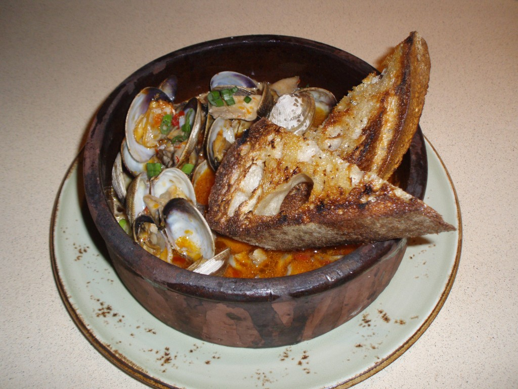 Wood Oven Clams