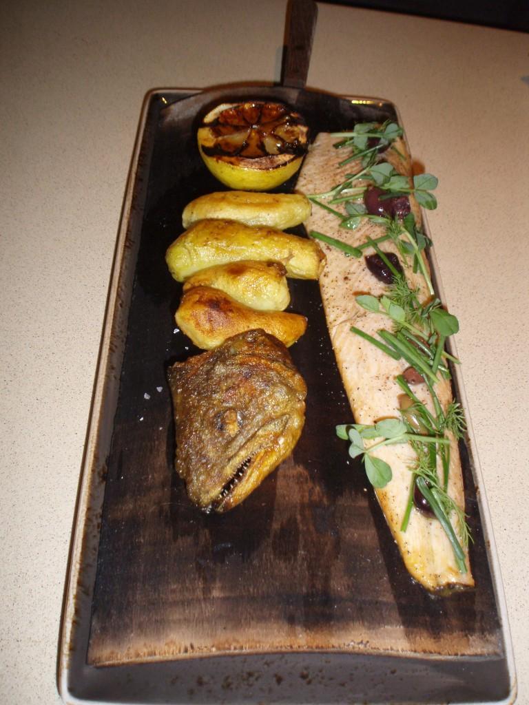 Alder Plank Half Trout