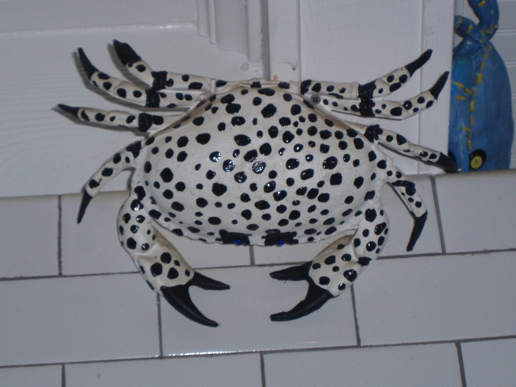 Hand Painted Crabs