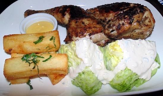Peruvian-Style Chicken Potatoes & Wedge Salad
