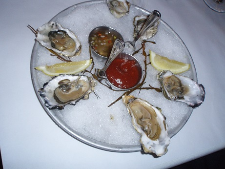 Seared Steak & Seafood's Oysters