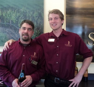 Scheid Tasting Room Team