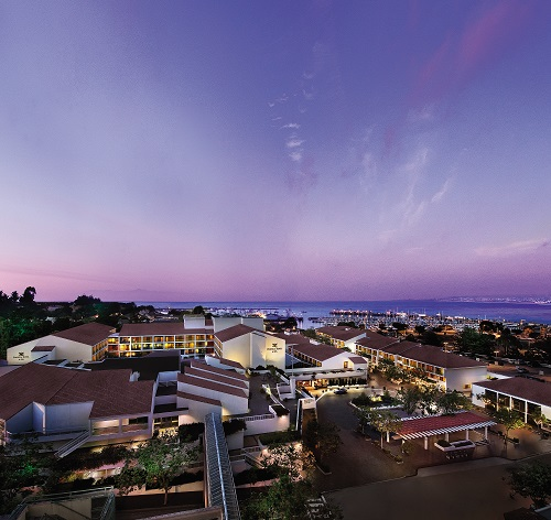 Portola Hotel & Spa Evening Exterior