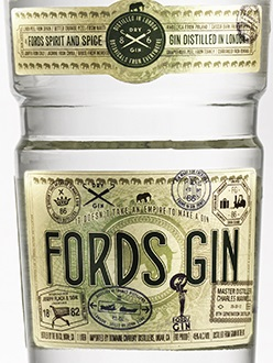 ford gin label