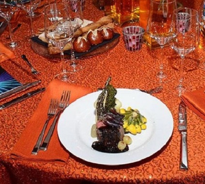 Patina Filet of Beef 66th Emmy Awards Dinner