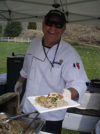 Chef Jeffrey Rigg at Taste of Sun Valley