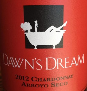 Dawn's Dream Chardonnay Label