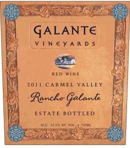 Galante '11 Rancho Galante FRONT