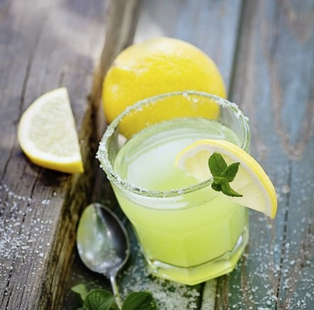 Garden Party Lemon Punch