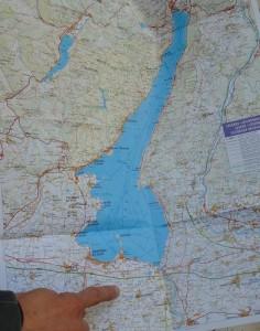 Map of Lugana Wine Region