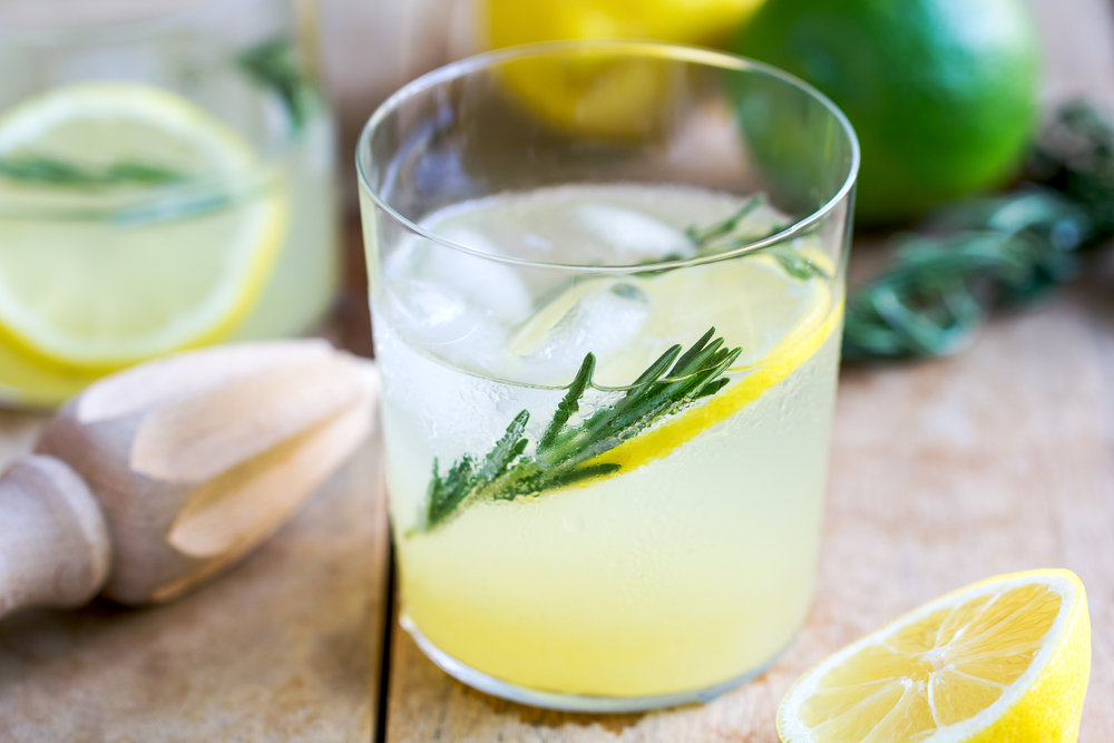 Rosemary Vodka Lemonade