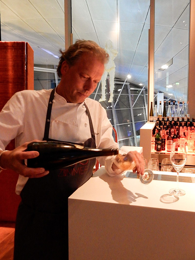 Michelin 2 Star Chef Bobby Brauer Selecting Wines