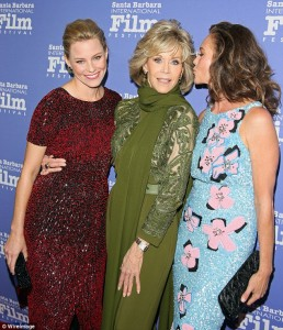 Elizabeth Banks, Jane Fonda and Diane Lane
