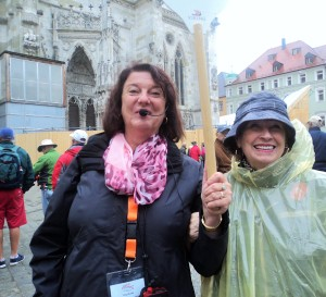 Pocket Rain Poncho A Lifesaver In Regensburg