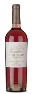 High Valley 2014 CS Rose'