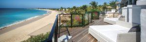 White Sand Beach View