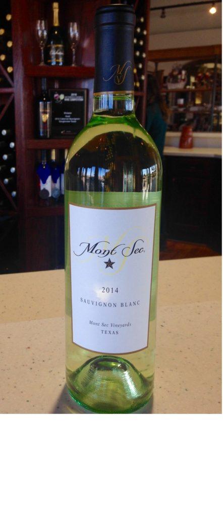 Llano Estacado Winery - 2014 Mont Sec Sauvignon Blanc
