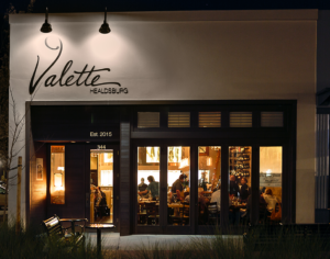 New VALETTE Restaurant, Chef Dustin Valette