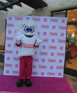 Cuppy Dunkin' Donuts Mascot