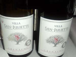 Villa San Juliette Wines