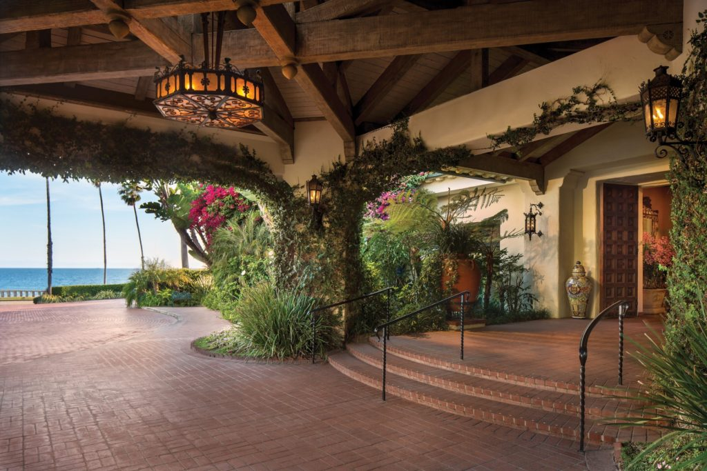 Entrance The Four Seasons Resort The Biltmore Santa Barbara