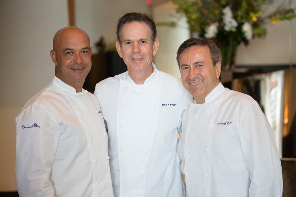 Star Chefs Jerome Bocuse, Thomas Keller & Daniel Boulud