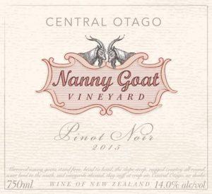 Nanny Goat Pinot Noir 2015 Ft